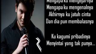 Download Lirik Lagu Ridho Roma  Mengapa Mp3