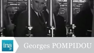 Inauguration de l'usine Simca par George Pompidou - Archive vidéo INA