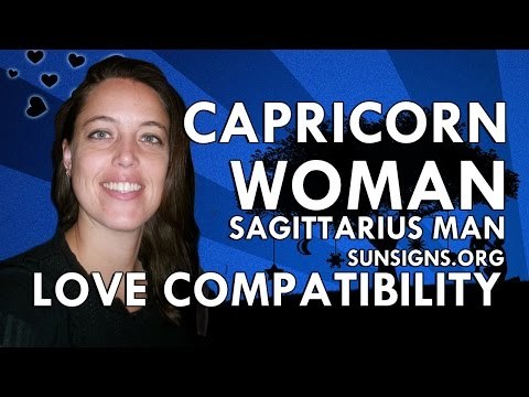 Capricorn Woman Sagittarius Man – A Relationship Of Opposites