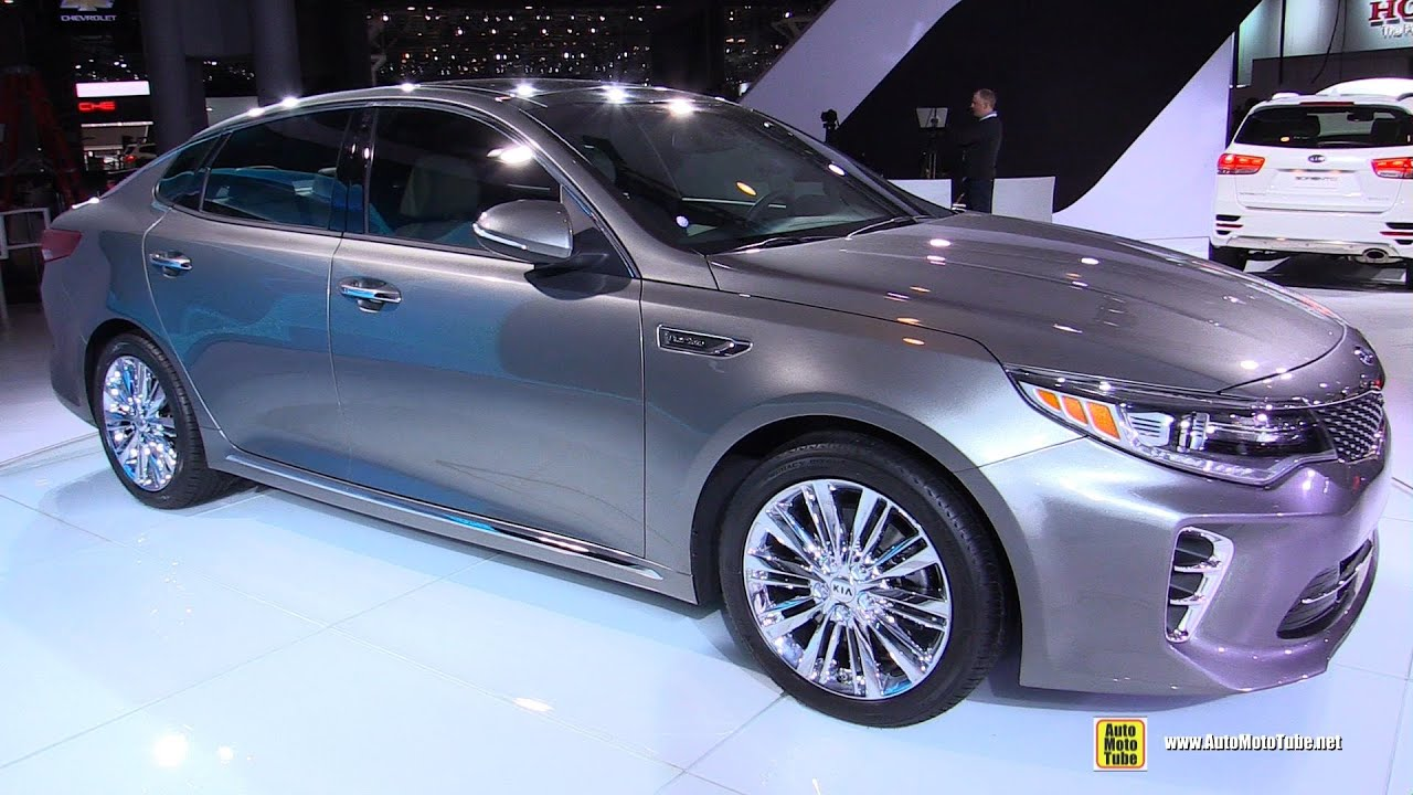 2016 Kia Optima Sxl Exterior And Interior Walkaround Debut At 2017 New York Auto Show