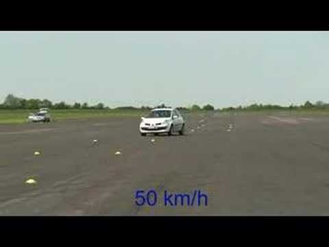 AB Dynamics ISO Lane Change Vehicle Dynamics Test