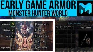 Monster Hunter World: Best Early Game Armor / Gear