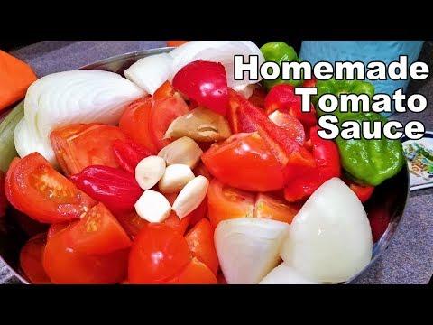 How to Make Homemade Tomato Sauce   Ghana Style   StellaZone