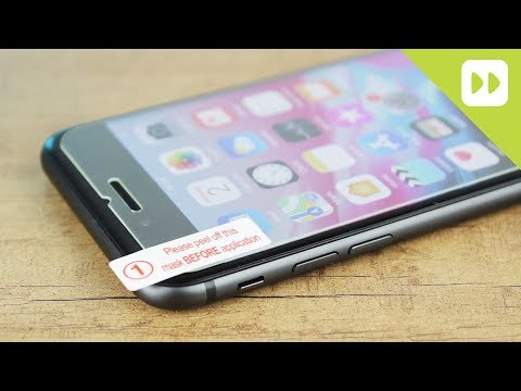 olixar-iphone-8-/-8-plus-case-compatible-glass-screen-protector-installation-guide-&-review