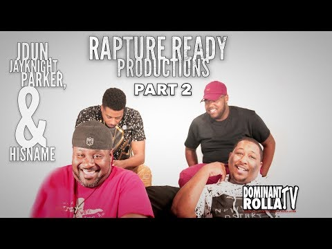 Rapture Ready Productions -  Talks about Gospel Rap Beef | Lacrae | Mase | Their Mission | New Music