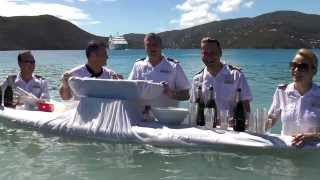 Seabourn Cruises - Caviar in the Surf