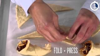 Sausage-stuffed Crescent Cornucopias