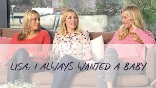 Lisa Faulkner: I really wanted to have a baby
