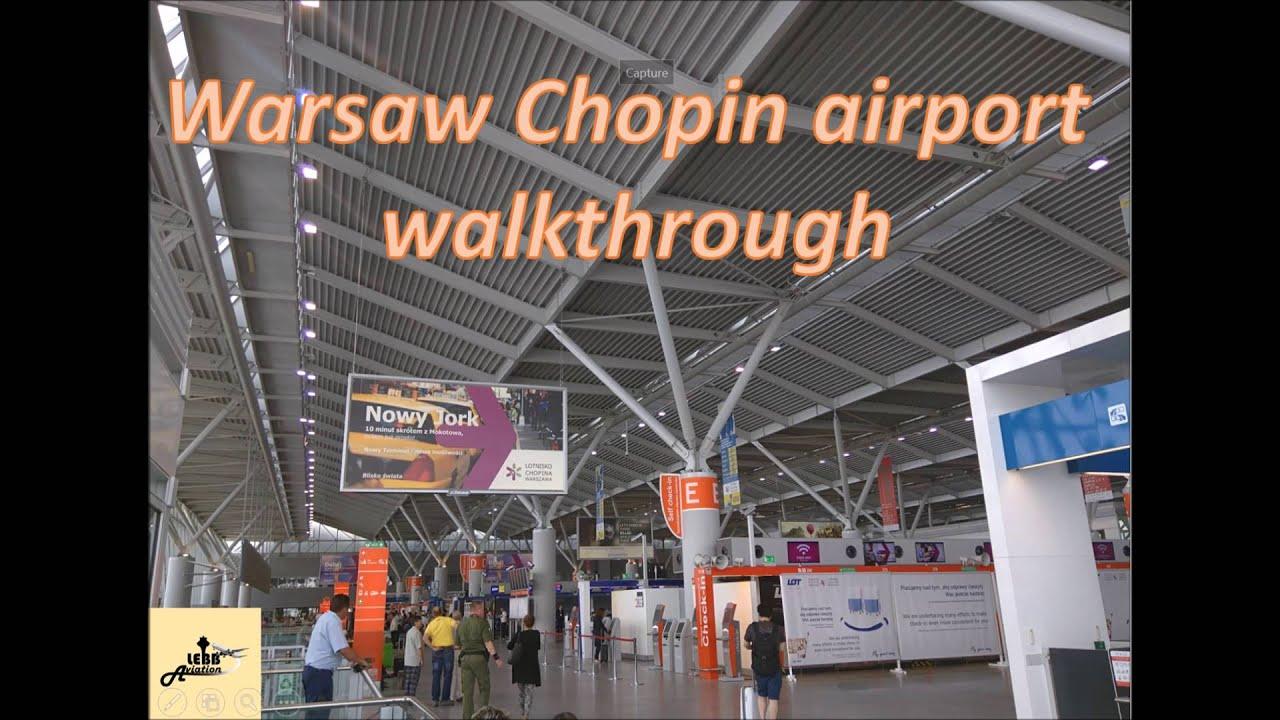 Airport Series  Warsaw Chopin Airport Walkthrough  YouTube