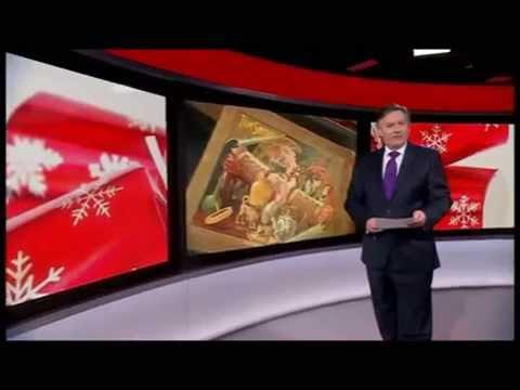 Tom Smith Crackers on BBC Breakfast