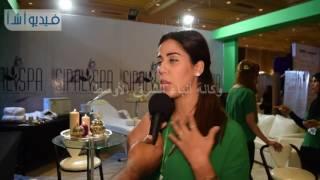 بالفيديو: تعرف على فوائد واسرار الحمام المغربى فى مهرجان الصحة والجمال