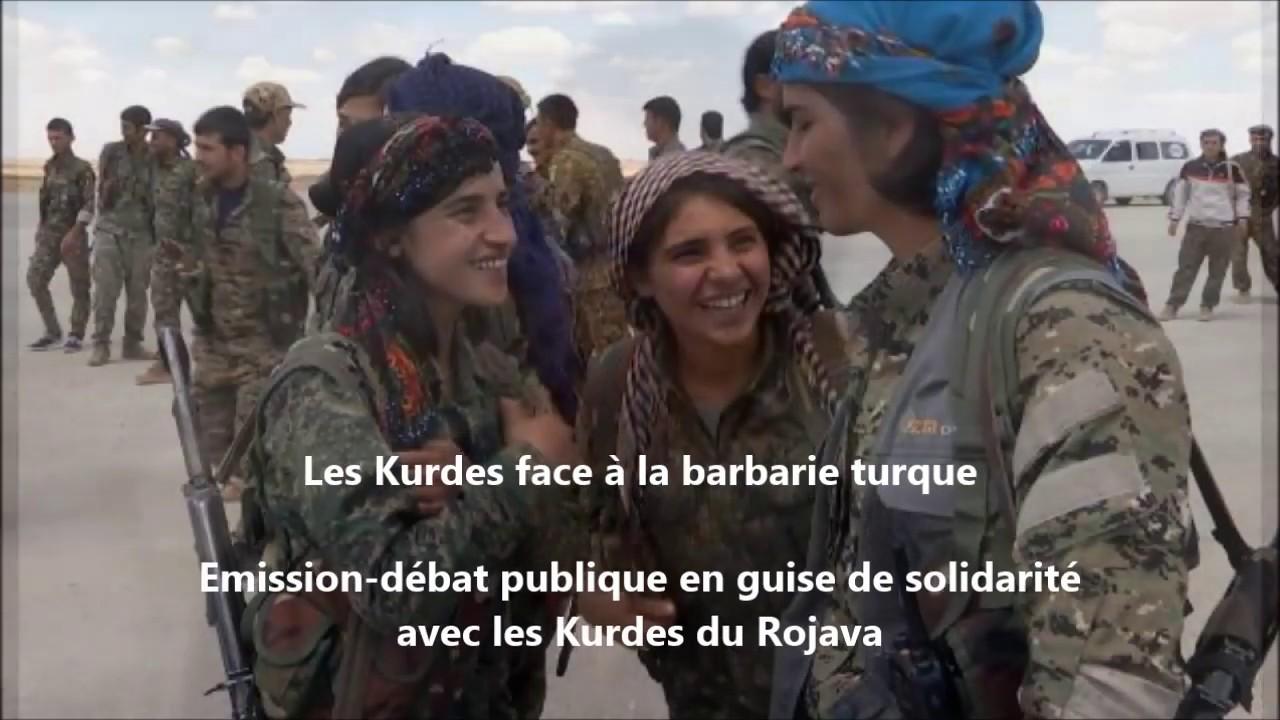 Les Kurdes face à la barbarie turque