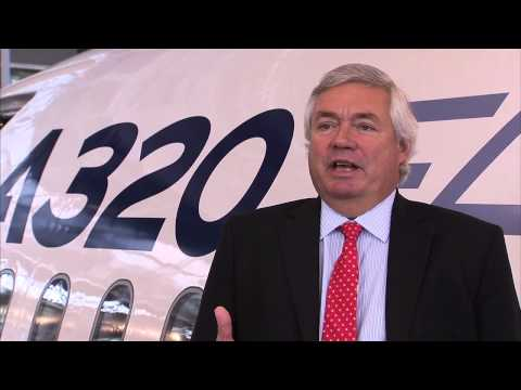 Airbus Global Market Forecast overview by John Leahy, Chief Operating Officer