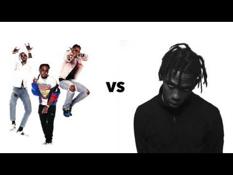Migos VS Travis Scott (Bad and Boujee - Goosebumps MASHUP)