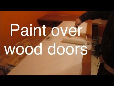 Painting Old Wood Closet Doors Youtube
