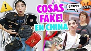 COMPRE COSAS DE DISEÑADOR FALSAS EN CHINA 😱Ni te imaginas que paso!! | Claudipia