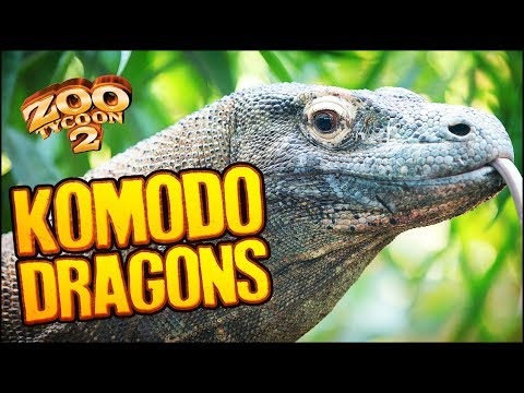 Zoo Tycoon 2 | KOMODO DRAGON ISLAND (The Aquarium Part 11)