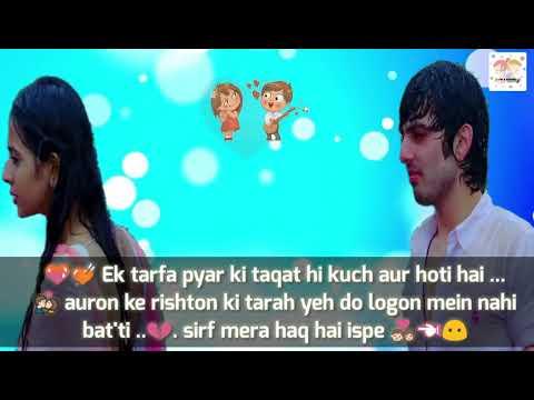 💏 Barish Song Status From Yariyaan||True love 💑 Whatsapp Status hindi || Heart touchingsong 💏