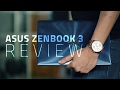 Asus ZenBook 3 UX390UA youtube review thumbnail
