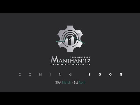 Manthan 2017 | Annual Techno-Management Fest | COER | AFTERMOVIE