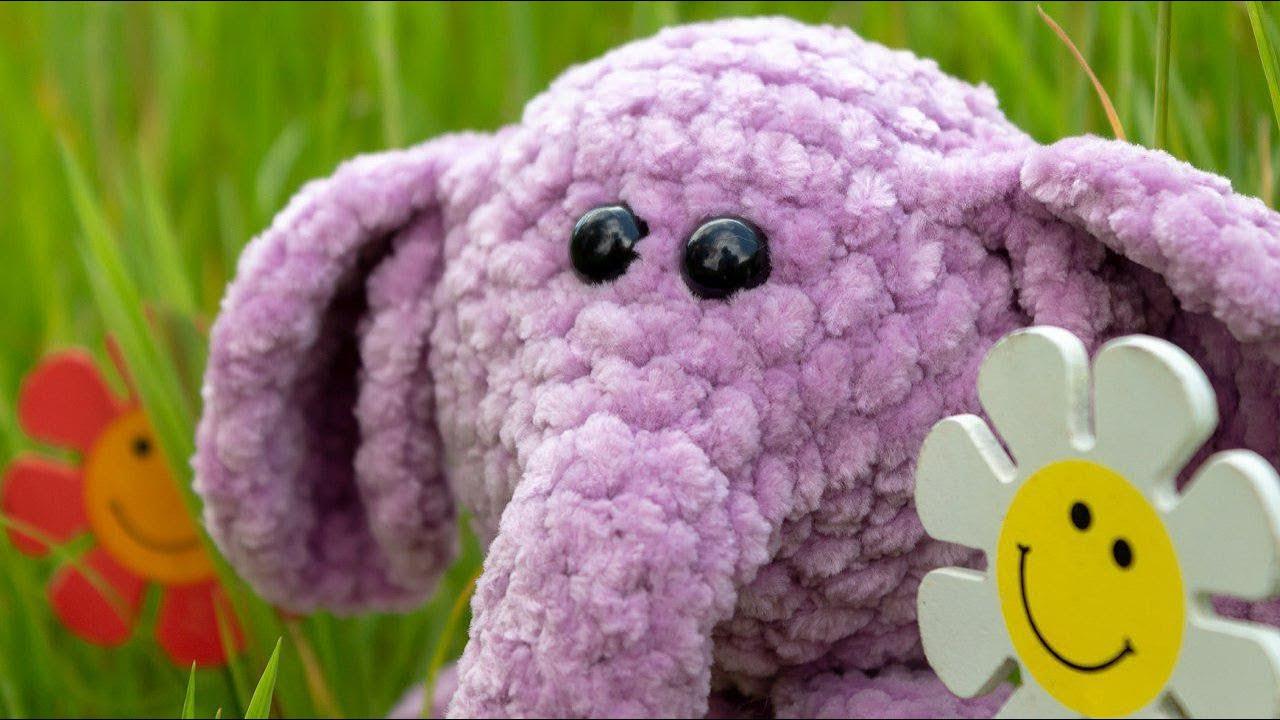 Crochet Amigurumi Elephant Pattern ( English only ) | Amigurumi ... | 720x1280