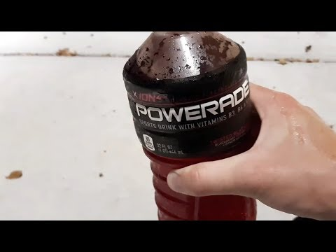 Powerade Twisted Blackberry Review!