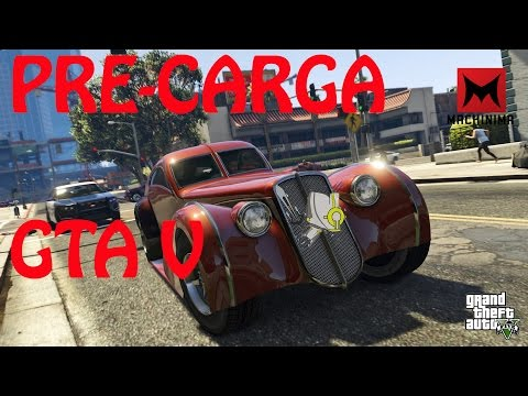 Reaccion con Pre-Carga de Grand Theft Auto V... :D ( 1080p) (60fps)
