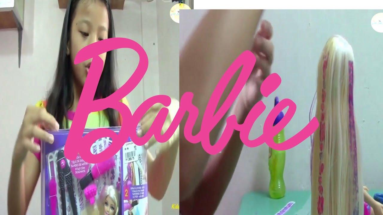 Barbie: Hair Tatoos (Throwback) - Grown Ups Kids' Toys