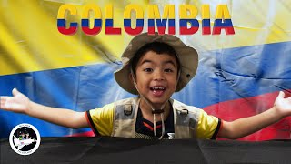 Geography For kids to Learn about the country Colombia with Milton The Explorer!!!