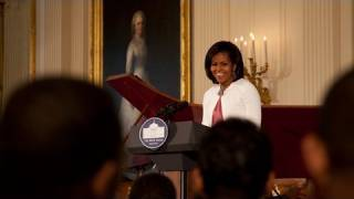 The First Lady Introduces the White House Jazz Studio