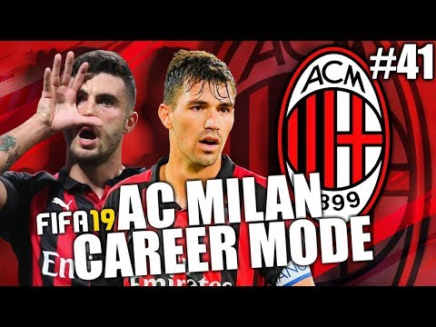 FIFA 19 | AC MILAN CAREER MODE | #41 | TEAM OF THE YEAR!