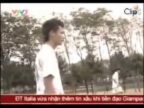 Cầu thủ Nguyễn Quang Huy - tài năng của Học viện HAGL ARSENAL JMG