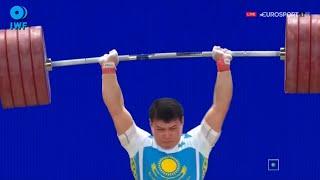 2015 World Weightlifting Championships, Men 94 kg \ Тяжелая Атлетика. Чемпионат Мира