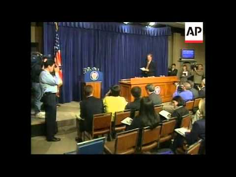 USA: PRESIDENT CLINTON IMPEACHMENT TRIAL LATEST (2)