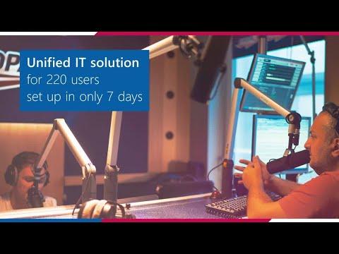 RADIOHOUSE: Czech radio sales leader achieves team synergy via Microsoft