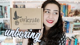 May OwlCrate Unboxing!