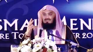 eyebrows on the nose ?-Mufti Menk funny