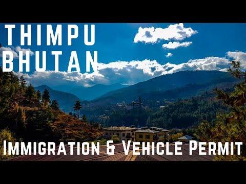 Thimpu  The City !  Bhutan Journey..