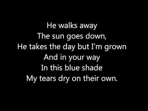 My Tears Dry On Their Own   Amy Winehouse   Lyrics on Screen
