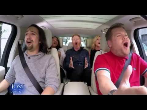 Tony Awards - Broadway Carpool Karaoke -  One Day More
