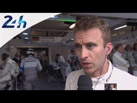 24 Heures du Mans 2014:  Interview Timo BERNHARD