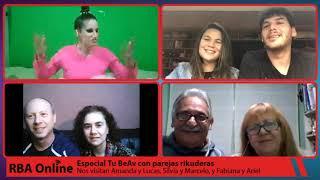 Especial Tu BeAv con parejas rikuderas: Amanda y Lucas, Silvia y Marcelo, y Fabiana y Ariel.