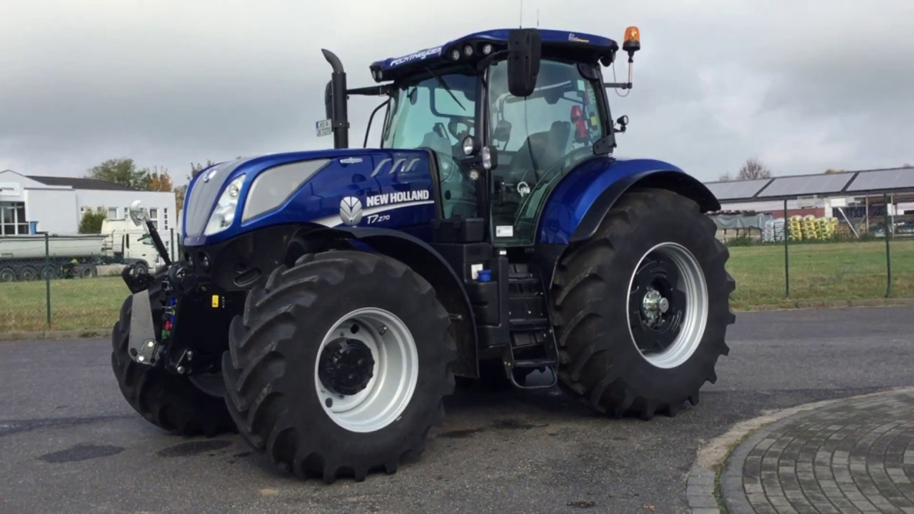 traktor new holland t7 270 ac 2015 fh 304h wegberg