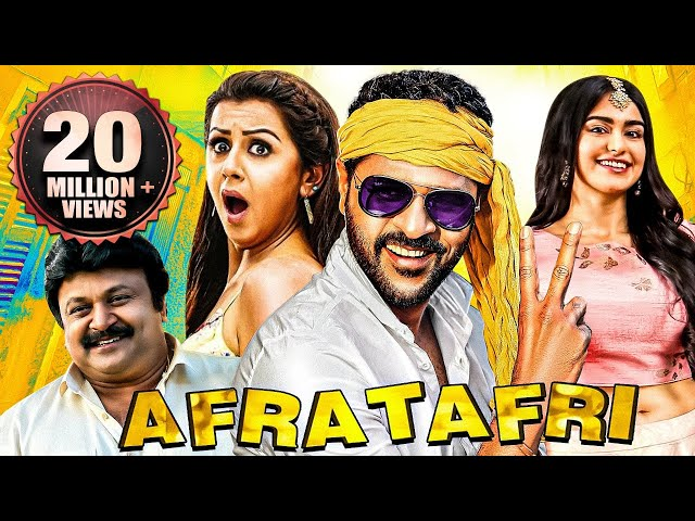 Afra Tafri (Charlie Chaplin 2) 2019 New Released Full Hindi Movie | Prabhu Deva, Nikki, Adah Sharma