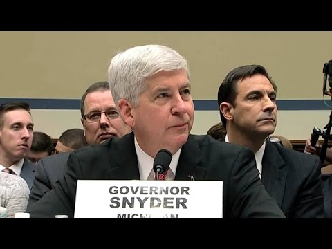 Will Gov. Snyder Be Next to Be Charged Over Poisoning of Flint's Water Supply?