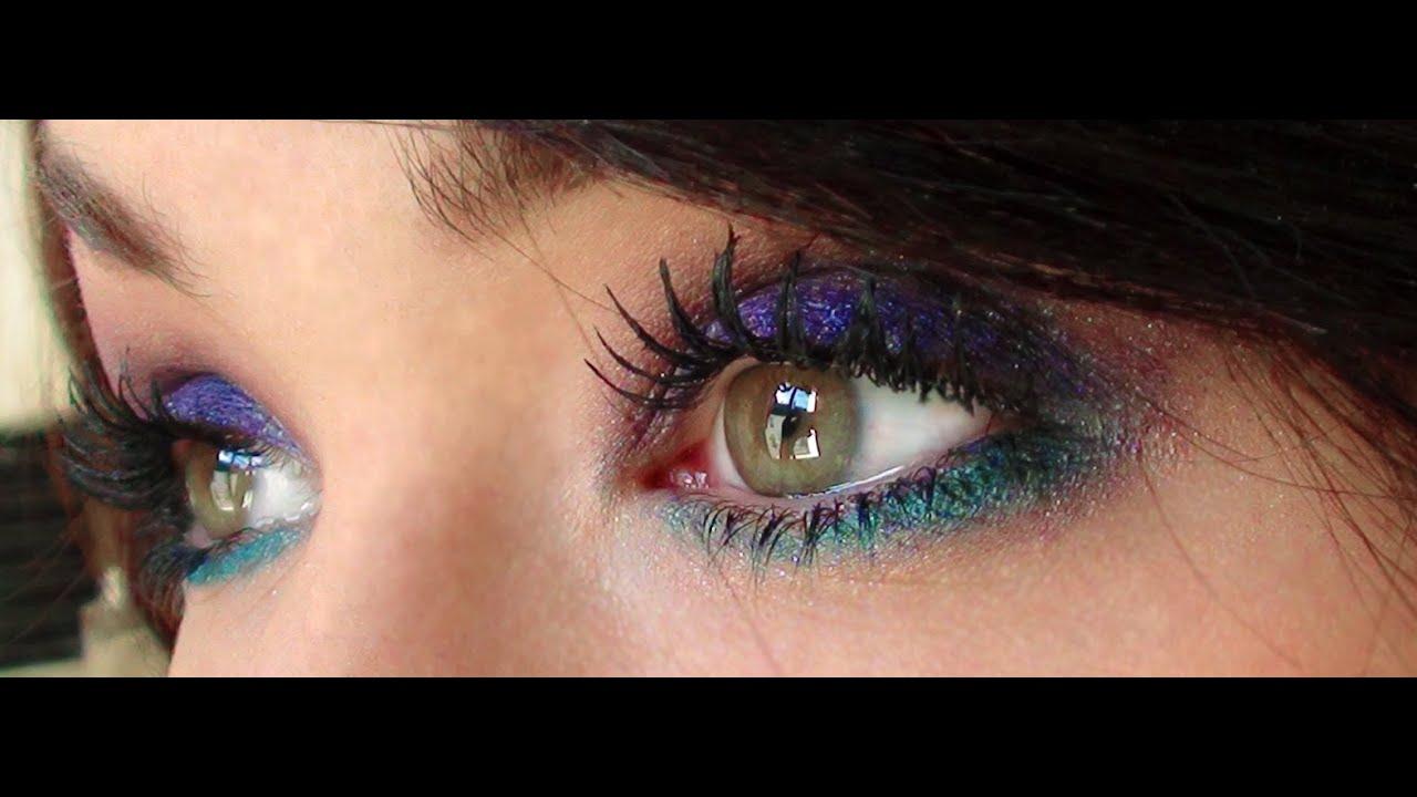 Maquillage color facile et rapide couleurs f eriques pour les yeux bleus youtube - Couleur maquillage yeux bleus ...