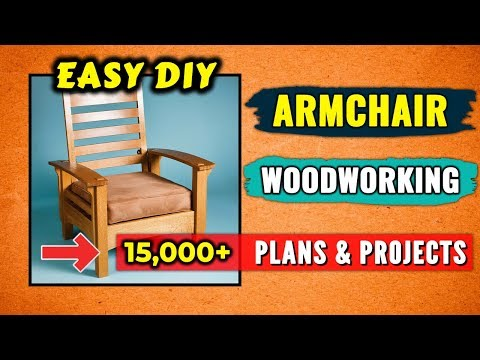 How to Make a Chair - (Easy) DIY Wooden Chair Woodworking Plans & Projects