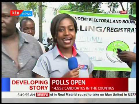 Polls officially open in Kisumu County