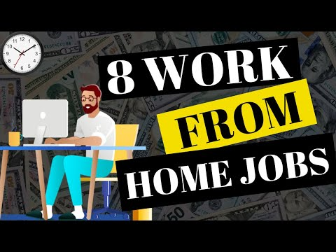 8 BEST WORK FROM HOME JOBS FOR 2019
