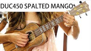 Flight DUC450 Spalted Mango Concert Ukulele Review